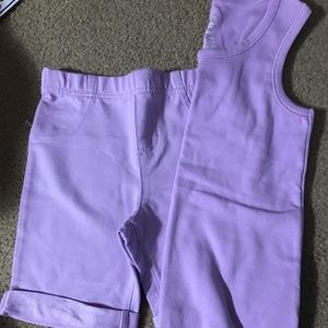 NWOT Bermuda Shorts with Matching Top